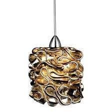 chuckanut lighting. W.A.C. Lighting - QP-LED544-GL/CH Pendant With Quick Connect Chuckanut Lighting O