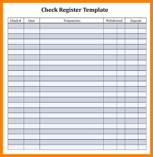 Check Ledger Book Check Register Template Printable Pdf Download Them Or Print