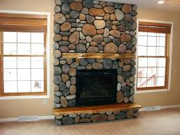 cost to install stone veneer on fireplace diy surround