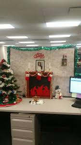 office cubicle christmas decoration. Cubicle Christmas Decor! Office Decoration C