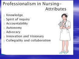 Professionalism In Nursing Professionalism In Nursing Ppt Video Online Download