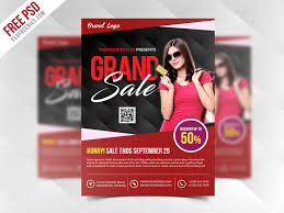 Grand Sale Flyer Template Free Psd Psdfreebies Com