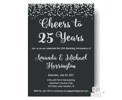 Surprise 50th Anniversary Invitations Wedding Party