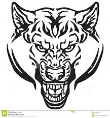 wolf face black and white.  Black Wolf Head Black And White Tattoo Inside Face Black And White