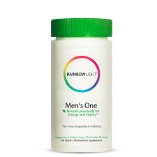 Rainbow Light Men S One Multivitamin Uk Mens One Multivitamin