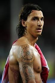 Zlatan Ibrahimovic Tetování