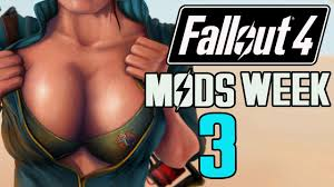 FALLOUT 4 MODS WEEK 3 Big Boobs Super V.A.T.S Body Collison.