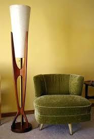 mid century modern floor lamp slender and sculptural teak design lamps target