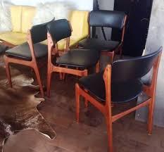 modern teak outdoor furniture best of 4 erik buch od 49 mid century modern teak chairs
