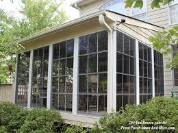 screen porch windows make a three