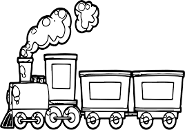 Children love the idea of toy trains? Funny Cartoon Train Coloring Page Train Coloring Pages Train Cartoon Train Drawing