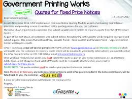 Quotes Works Important Information Regarding Quotes For Notices
