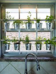 indoor window garden. how to make a hanging window herb garden \u003e\u003e http://www. indoor