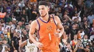 NBA-Finale: Devin Booker von Suns stellt einen Ligarekord für die meisten  Punkte auf, die in der ersten Nachsaison eines Spielers erzielt wurden -  Germanic Nachrichten