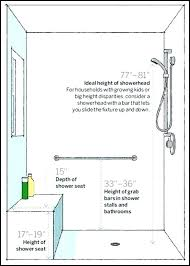 ada shower head shower heads shower heads shower bench dimension best small shower stalls ideas on ada shower