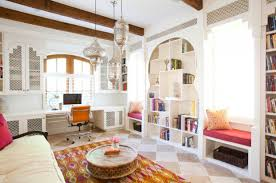 modern moroccan living room