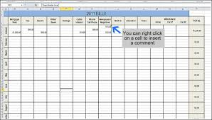 Excel Bill Tracker Template Free Bill Tracking Spreadsheet Monthly Household Budget