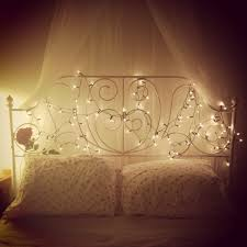 Modern Tumblr Bedrooms With Fairy Lights Bed Bedroom Princess Ikea I Have On Ideas