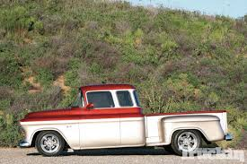 1956 Chevrolet Pickup - Stretched Chevy - Truckin Magazine