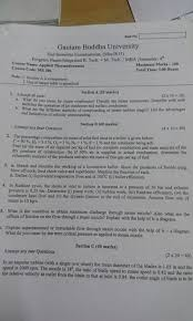 Previous year Question Papers - Mechanical Engg. - Gbuians.com