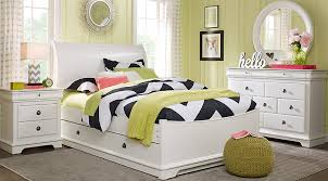 sleigh bed furniture. Oberon White 5 Pc Full Sleigh Bedroom Bed Furniture