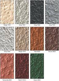 Patina Color Chart Terapro Surfacing Color Options