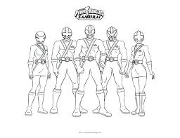 Power Rangers Coloring Pages Power Rangers Thunder Coloring Pages