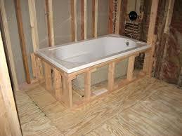 shower tub installation drop in bathtub installation maax tub shower door installation tub shower valve height