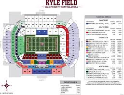 62 Prototypal New Kyle Field Seating Chart