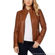 guess women s rio lucio crisscross ties faux leather moto jacket jacket blazers coats
