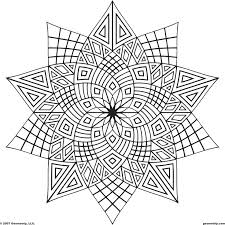 Great Free Geometric Coloring Pages 90 On Coloring Pages Online