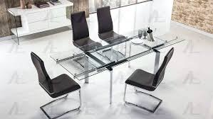 expandable glass dining table extendable smoked glass dining table ikea extendable glass dining table