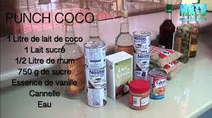 punch au coco fait maison ftempo inspiration