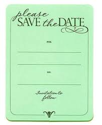 Blank Save The Date Cards Amazon Com Soft Sage Green Embossed Please Save The Date