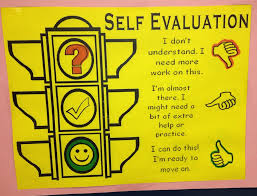 Self Appraisal Form Template 31 Student Self Evaluation Chart Self ...