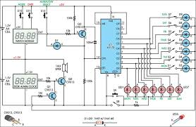 alarm circuit diagram the wiring diagram alarm clock day selector circuit diagram circuit diagram
