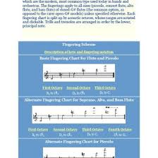 Flute Trill Chart 3rd Octave Flute And Piccolo Fingering Charts D49om6qgq049