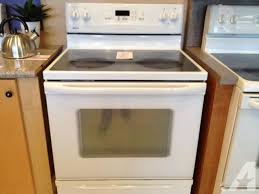 electric range kitchen appliances for in tacoma washington and stoves ranges and refrigerators kitchen classifieds page 6