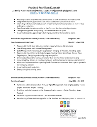 Business analyst resume salesforce Administrative Resume Templates to Impress Any Employer LiveCareer