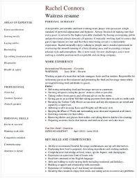 hostess sample resume restaurant waitress resume hotel and restaurant management