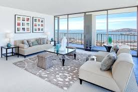 rug on carpet living room. Rug Over Carpet Living Room Contemporary With White Sofas On Put. Placing