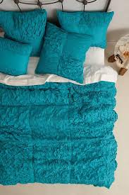 Cotton Voile Squares Quilt & Teal Cotton Voile Squares Quilt Adamdwight.com