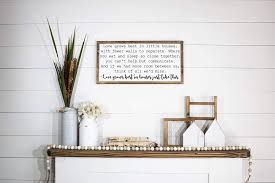 Get it as soon as. Amazon Com Love Grows Best In Little Houses Framed Wood Sign 12 Inches By 24 Inches Farmhouse Style Wood Sign Rustic Wall Decor Hanging Home Decoration Gift Handmade