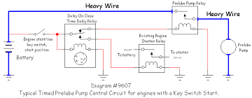 pump start relay wiring diagram considerations in wiring power to a prelube pump varna products 9607timedprelube1 6k hunter pump start relay wiring diagram wiring diagram