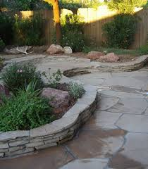 flagstone landscaping. Beautiful Flagstone Decks, Patios, Walls, Walkways And More By Alber\u0027s  Landscaping Flagstone Landscaping .