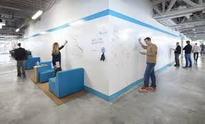 office wall design. Elegant White Wall Colour Modern Office Creative Furnishing Ideas With Design