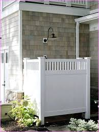 outdoor shower enclosure outdoor shower enclosure with white colors wall shower and nice flowers and simple outdoor shower enclosure