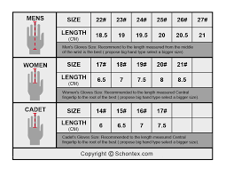 Golf Gloves Size Chart Images Gloves And Descriptions