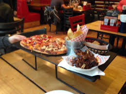 Main Course Picture Of Pizza Hut Corporation Street Manchester