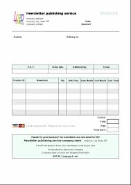 Invoice Libreoffice Template Templates Microsoft And Open Office